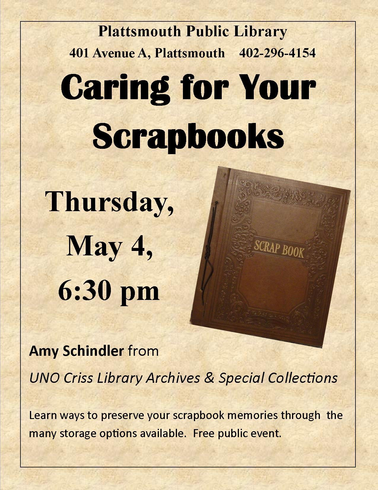 Caring for Your Scrapbooks534