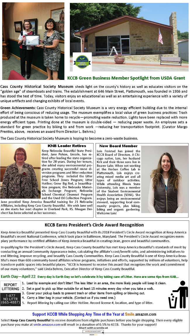 2019 Spring Newsletter pg 2