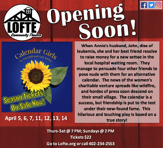 Calendar Girls Lofte