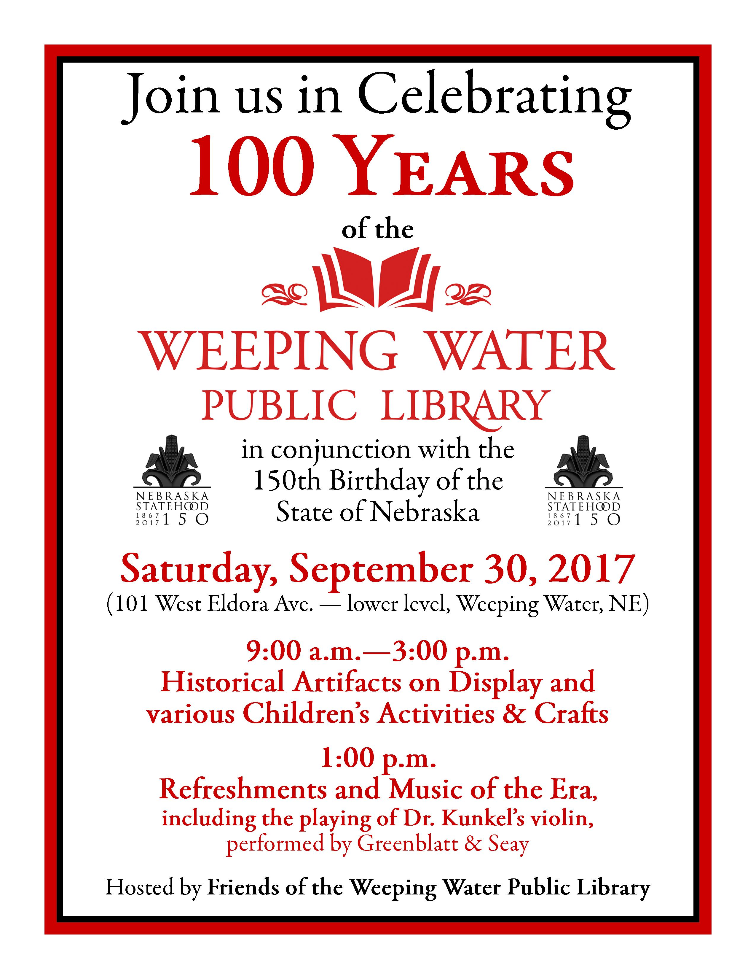 FWWPL Ad Poster for 100th1822