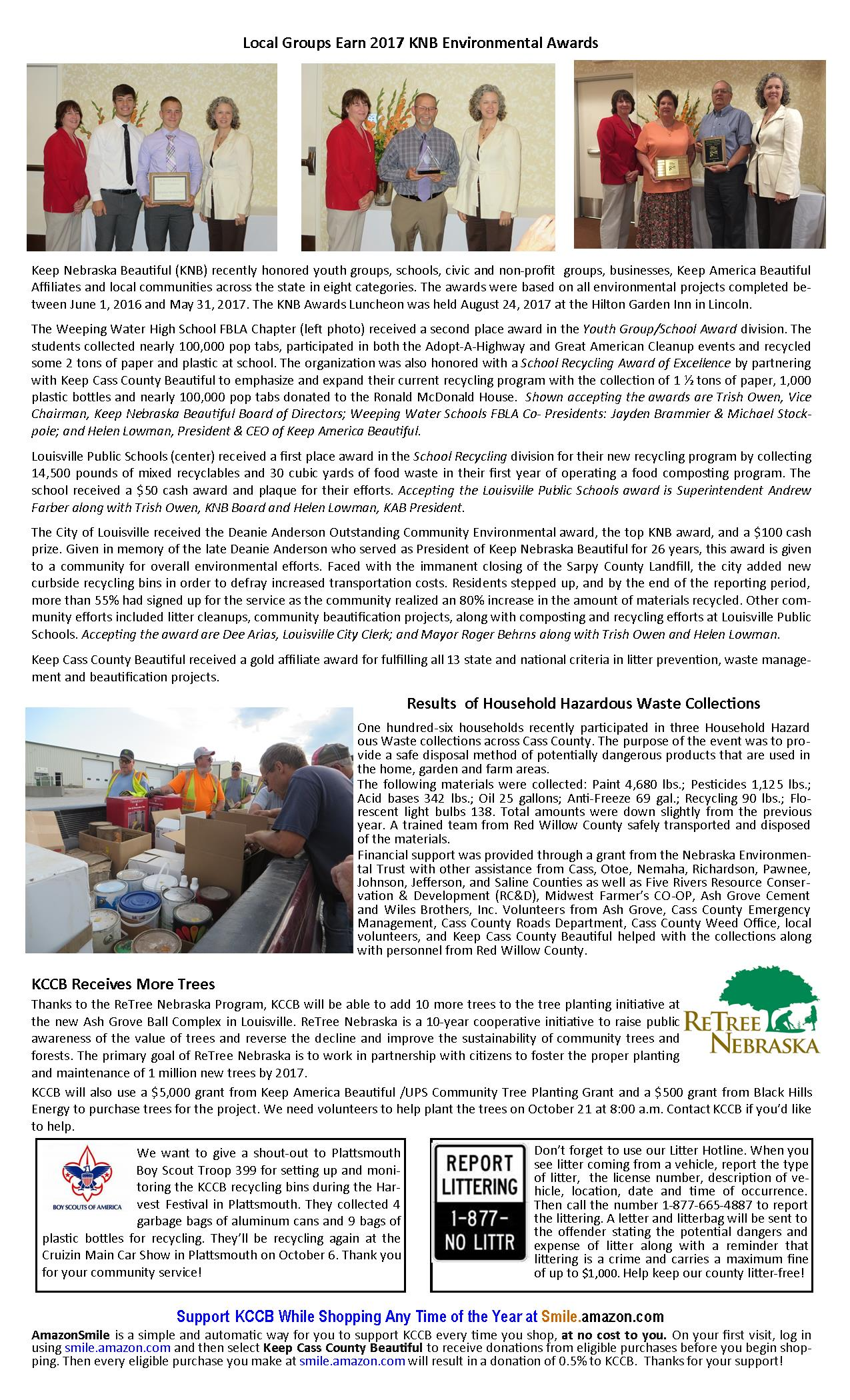 KCCB Newsletter page 2