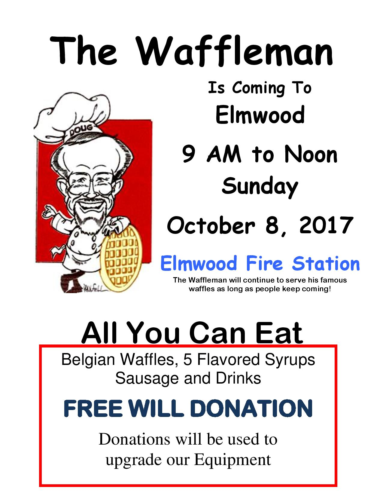 The Waffleman Flyer 20171818